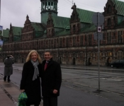 Ben and Abby in Copenhagen